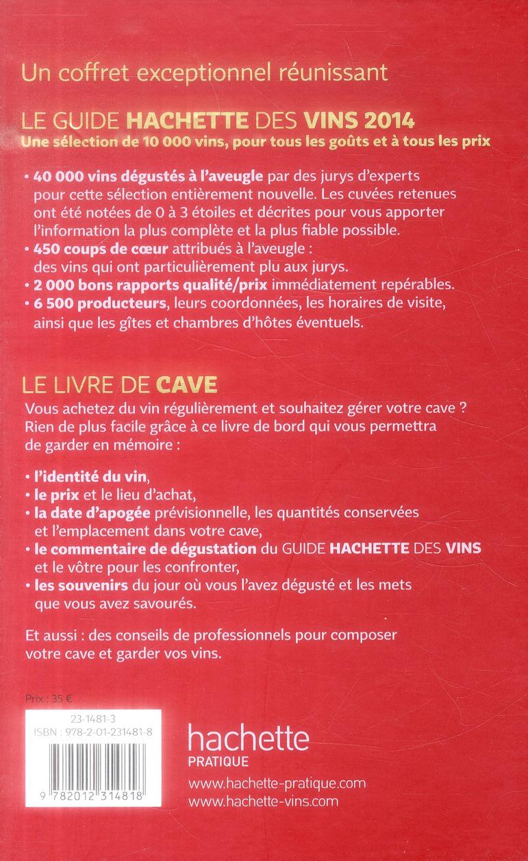 Le guide Hachette des vins (édition 2014) ; livre de cave
