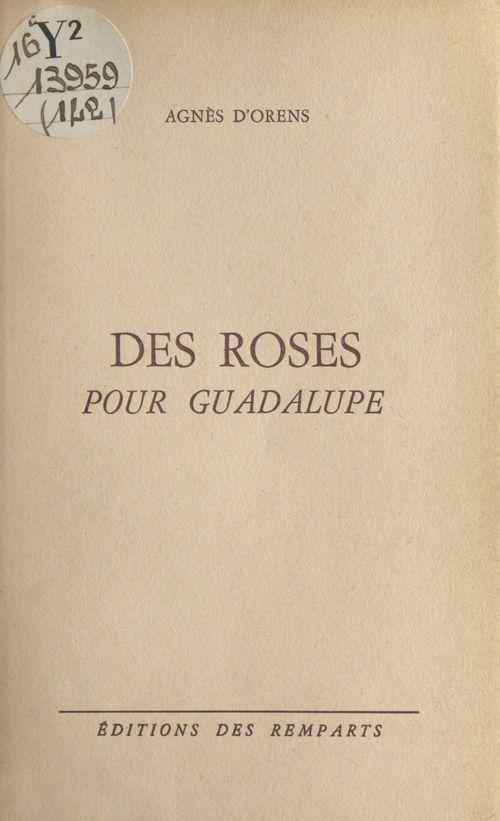 Des roses pour Guadalupe