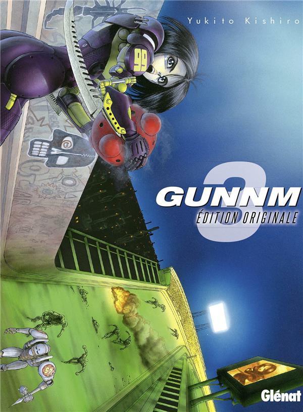 GUNNM - EDITION ORIGINALE - TOME 03 KISHIRO YUKITO