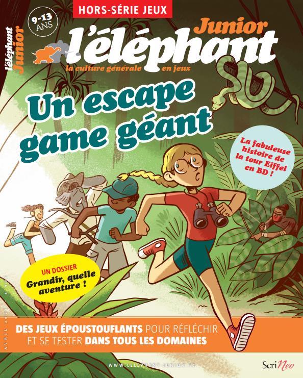 L'elephant junior hors-serie ; jeux n. 2
