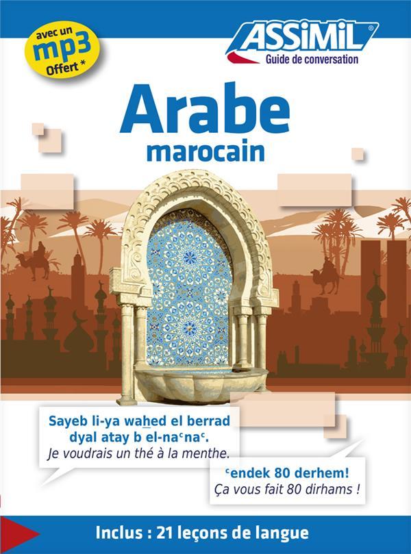 Guides De Conversation ; Arabe Marocain