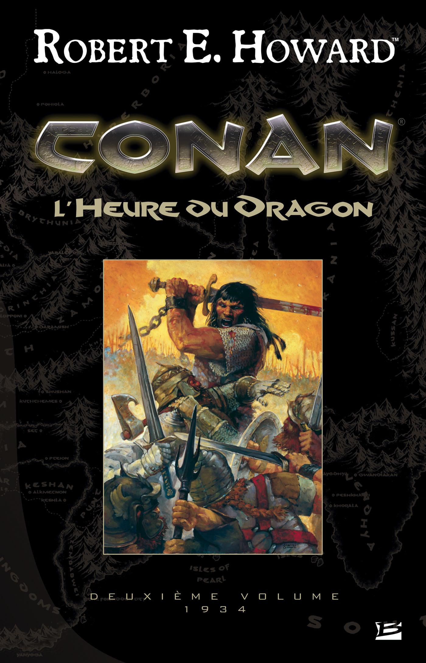 Conan ; INTEGRALE VOL.2 ; 1934 ; l'heure du dragon