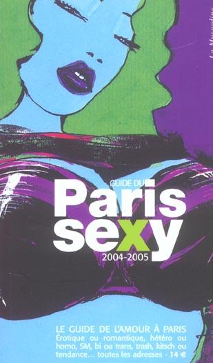 Guide du paris sexy (édition 2004/2005)