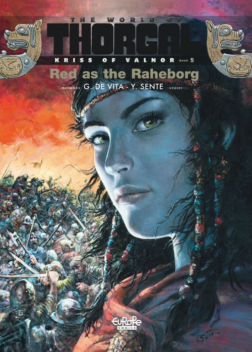 Kriss of Valnor - Volume 5 - Red as the Raheborg