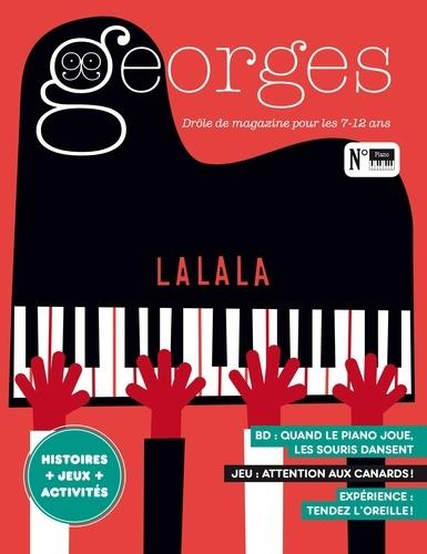 MAGAZINE GEORGES N.45  -  PIANO