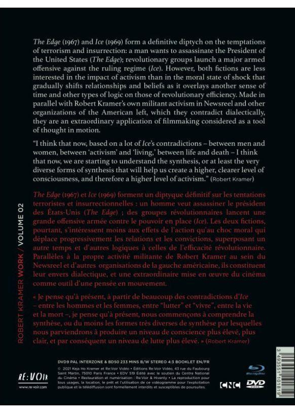Robert Kramer Work - Volume 02 - The Edge + Ice