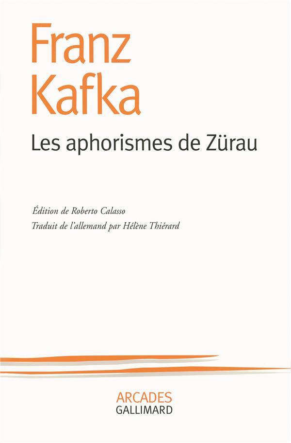 Les aphorismes de Zürau