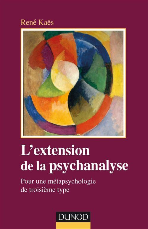 L'extension de la psychanalyse
