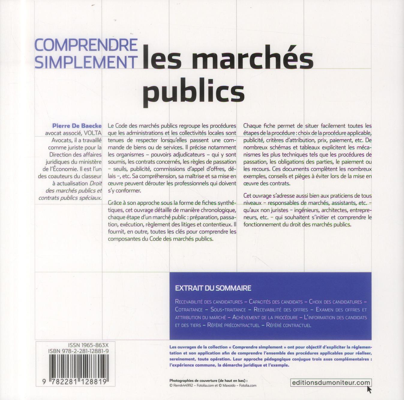 Comprendre simplement les marchés publics