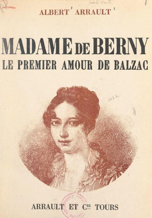 Madame de Berny, le premier amour de Balzac
