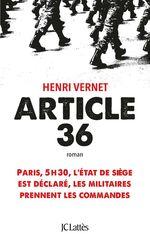 Vente Livre Numérique : Article 36  - Henri Vernet