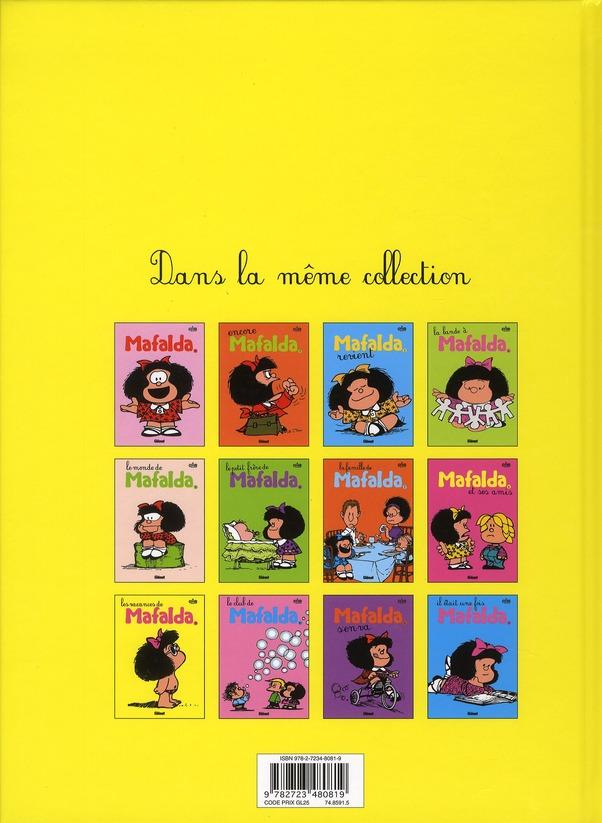 Mafalda t.9 ; les vacances de Mafalda