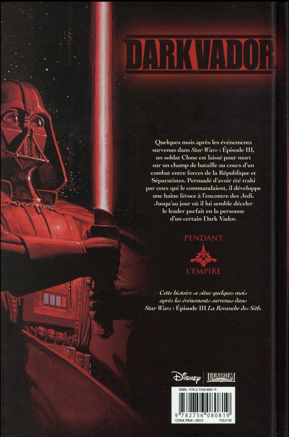Star Wars - Dark Vador t.3 ; terreur dans les ténèbres
