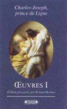 charles-joseph, prince de ligne ; oeuvres t.1