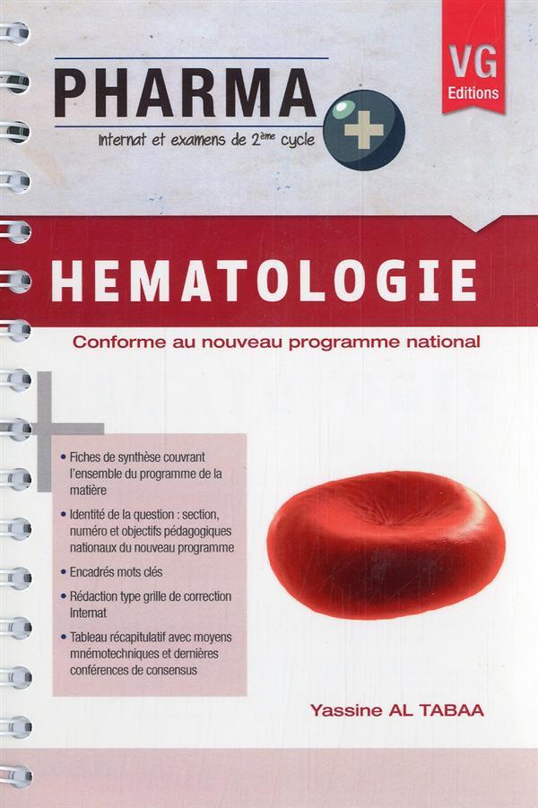 Pharma + hematologie
