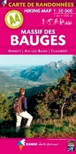 Massif des Bauges ; Annecy, Aix-les-Bains, Chambéry