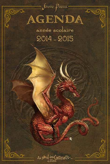 Agenda scolaire dragons 2014/2015