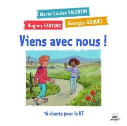 VIENS AVEC NOUS - CD - 16 CHANTS POUR LE KT