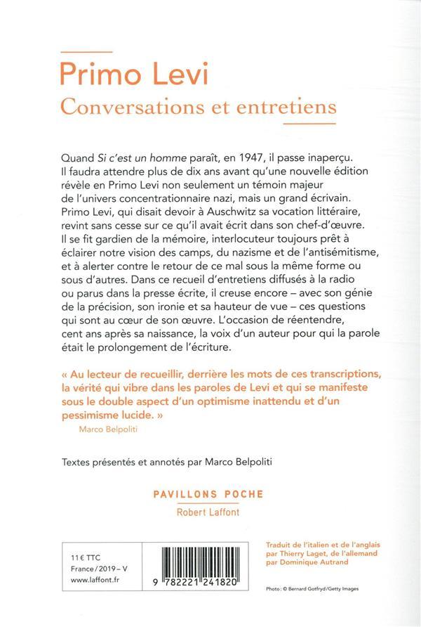 Conversations et entretiens