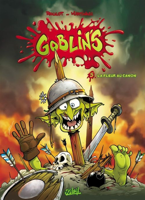 Goblin's t.5 ; la fleur au canon