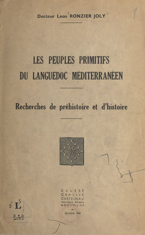 Les peuples primitifs du Languedoc méditerranéen