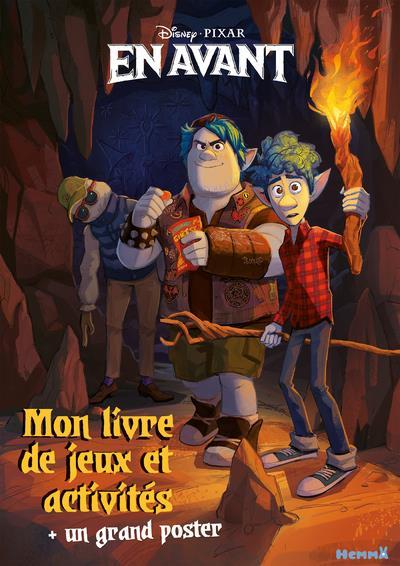 Disney En Avant ; Mon Livre De Jeux Et Activites + Un Grand Poster