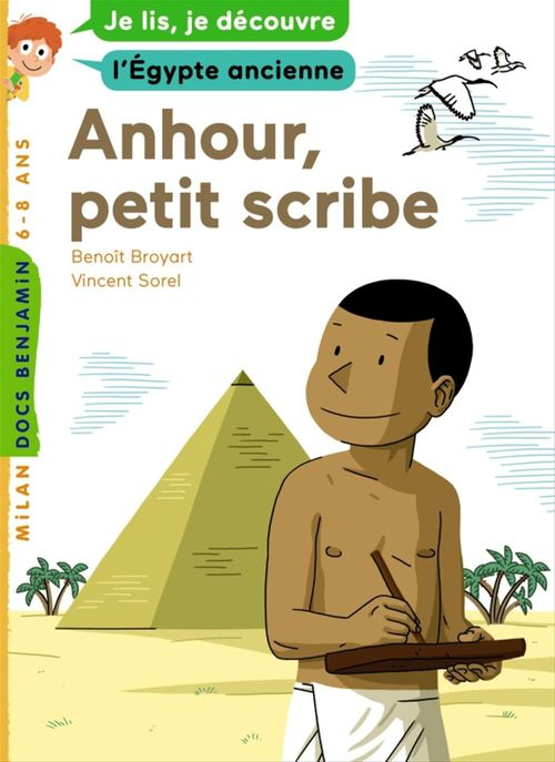 Anhour, petit scribe