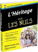 Vente Livre Numérique : L'héritage pour les nuls  - Nathalie COUZIGOU-SUHAS - Laurence De Percin