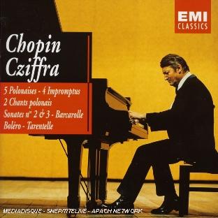 5 Polonaises, 4 Impromptus, 2 Chants Polonais, Sonate N°2, N°3, Barcarolle...