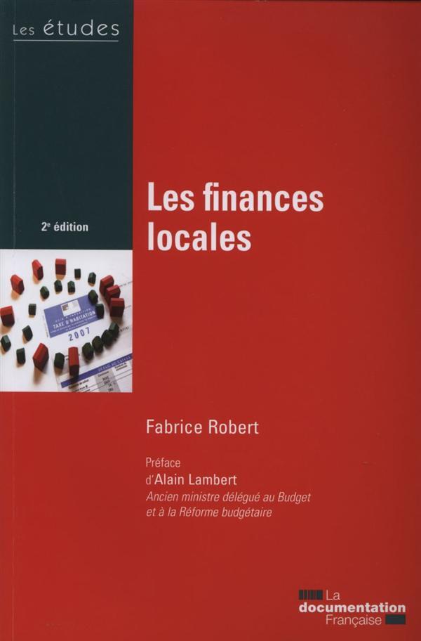 Les finances locales (2e édition)