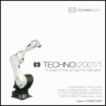 Techno 2001/1 Mixed By Oliver Way (16 State Of The Art Techno Slammers)