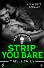Vente Livre Numérique : Strip You Bare: Deacons of Bourbon Street 4 (A sexy biker romance)  - Maisey Yates