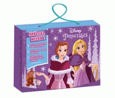 Disney Princesses ; valisette d'activités ; spécial hiver