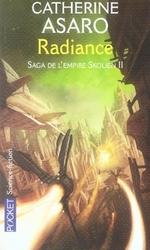 Couverture de Saga de l'empire skolien t.2 ; radiance