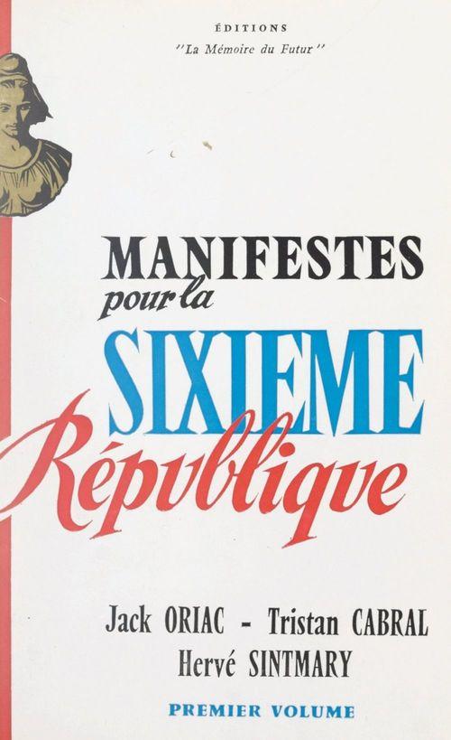 Manifeste pour la Sixième République (1)