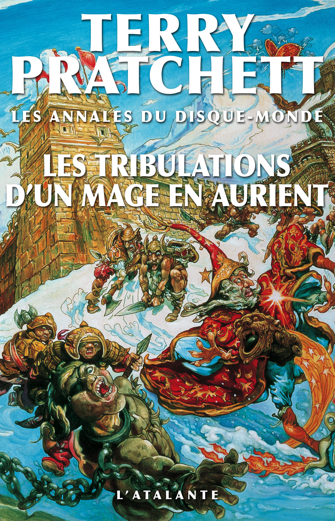 Les annales du Disque-monde T.17 ; les tribulations d'un mage en aurient
