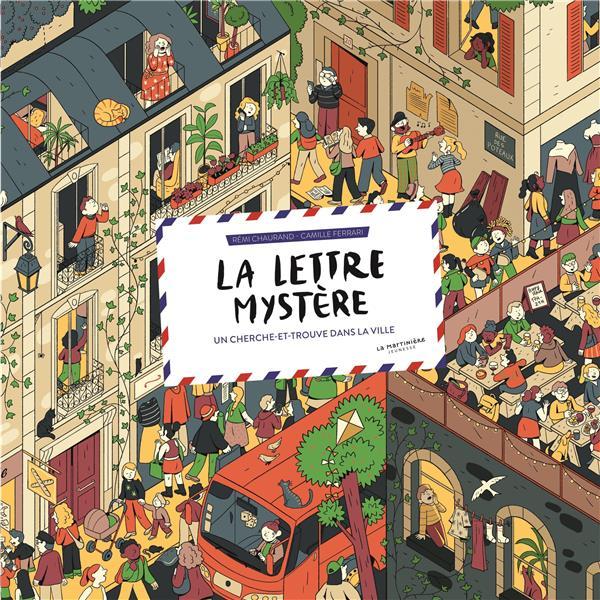 La lettre mystère : un cherche et trouve dans la ville
