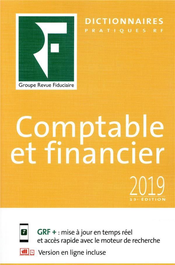 Dictionnaire comptable et financier (édition 2019)