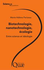 Vente Livre Numérique : Biotechnologie, nanotechnologie, écologie  - Marie-Hélène Parizeau