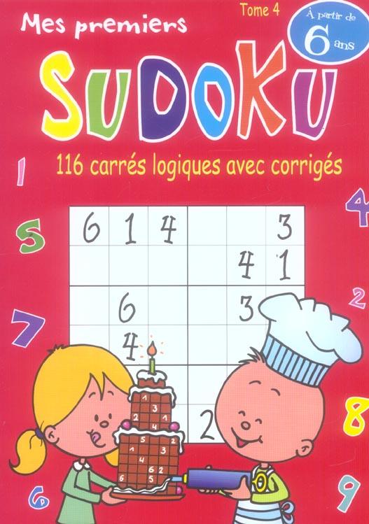 Mes premiers sudoku t.4