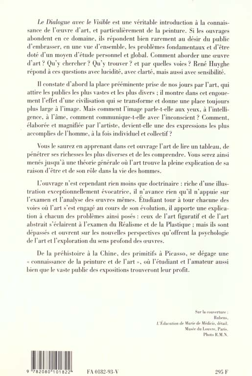 Dialogue avec le visible (nouvelle edition)