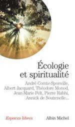 Couverture de Ecologie et spiritualité