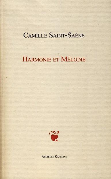 Harmonie et mélodie