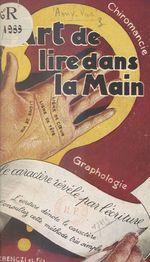 Vente EBooks : L'art de lire dans la main et le caractère révélé par l'écriture  - Amy-Var