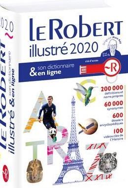 Dictionnaire le Robert illustré et son dictionnaire en ligne (édition 2020)