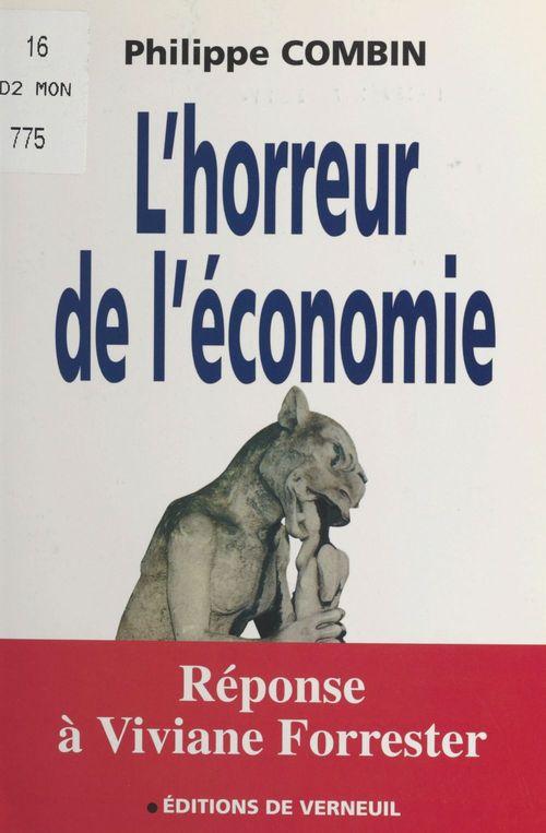L'horreur de l'economie