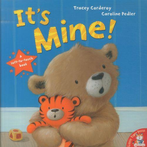 It's mine ! - a soft-to-touch book