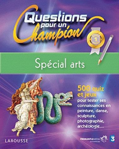 Questions Pour Un Champion ; Special Arts