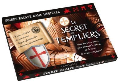 Soirée escape game médiéval ; le secret des Templiers