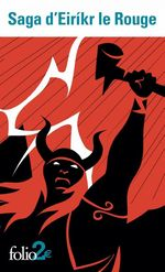 Vente Livre Numérique : Saga d'Eiríkr le Rouge suivi de Saga des Groenlandais  - Anonymes